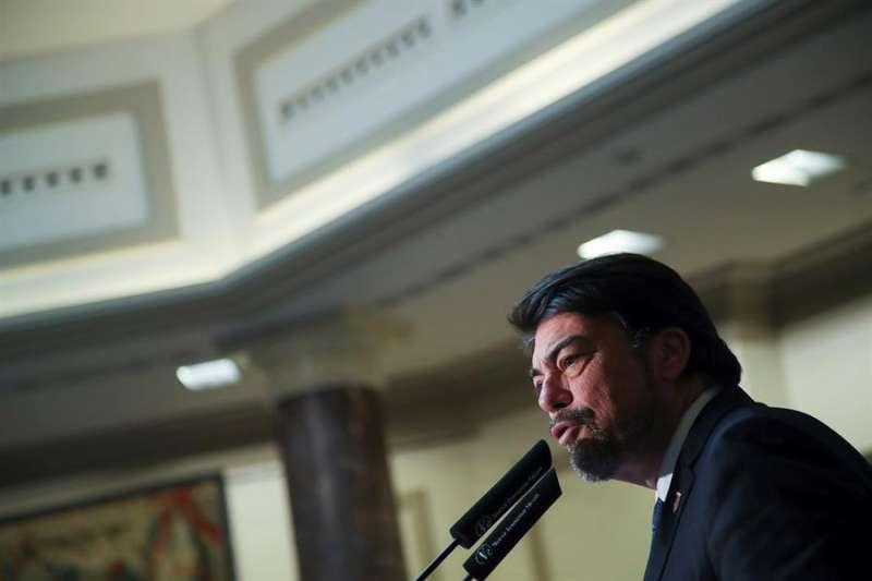 El alcalde de Alicante, Luís Barcala Sierra. EFE