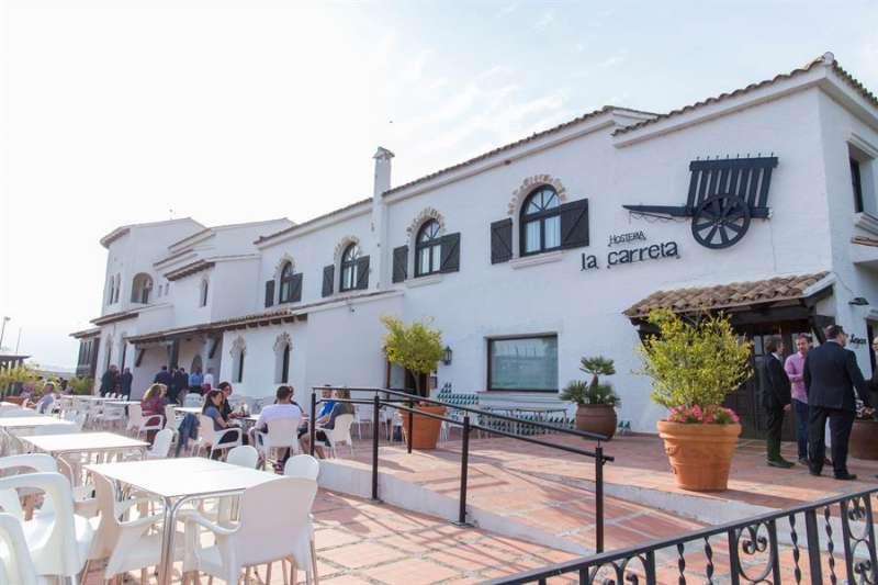 Una imagen del emblemático Hotel Restaurante La Carreta de Chiva, facilitada por los propietarios del establecimiento. EFE