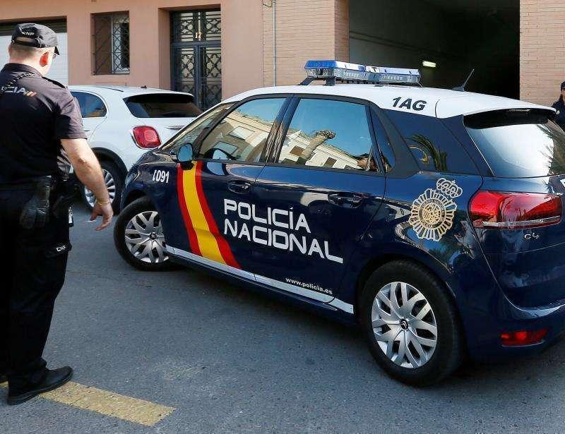 Vehículo de Policía Nacional