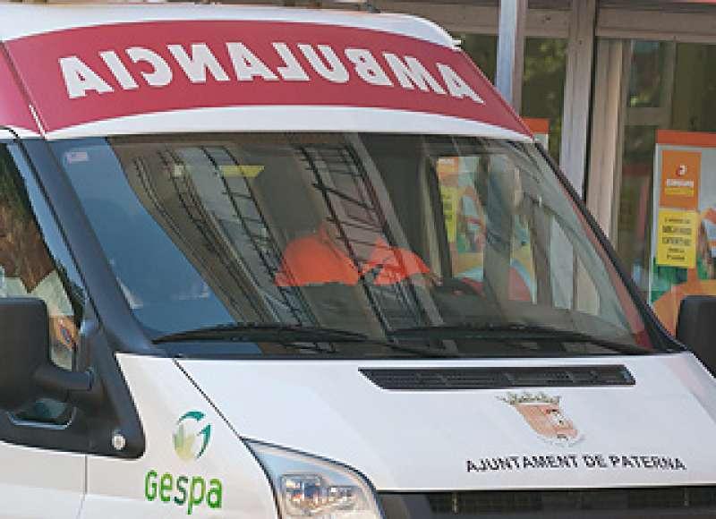 Ambulancia de Paterna