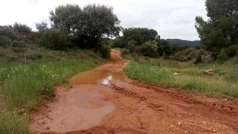 Tormentas en la comarca de Requena-Utiel. L. I.