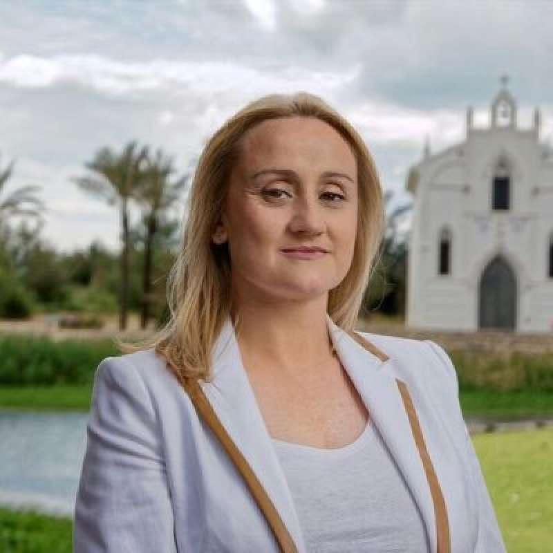La portavoz del PP Virginia Garrigues. EPDA