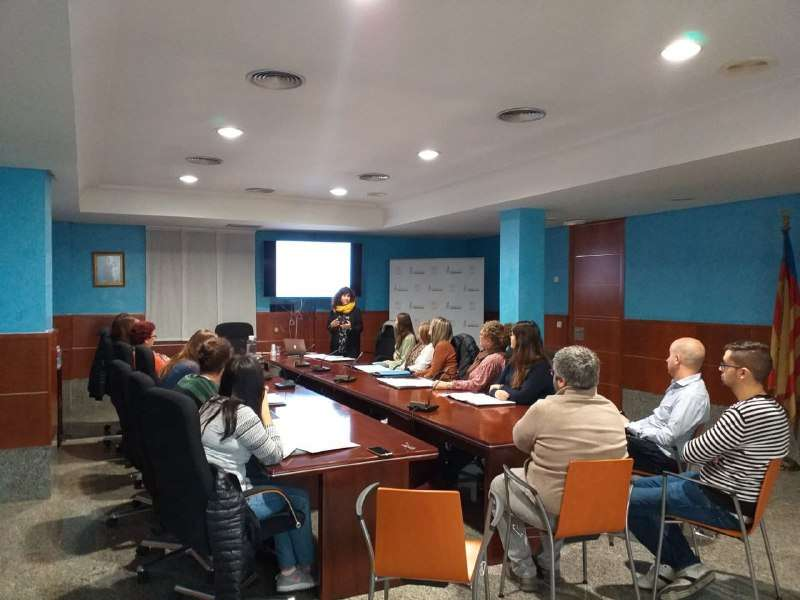 Presentació dels resultats a Rafelbunyol. EPDA