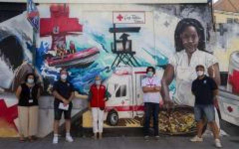 Voluntarios Cruz Roja./PDA