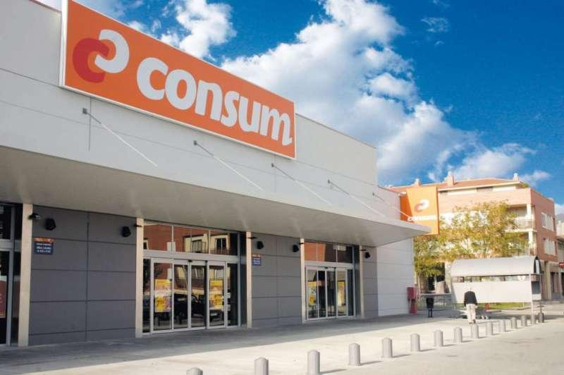 Uno de los supermercados de Consum. EPDA