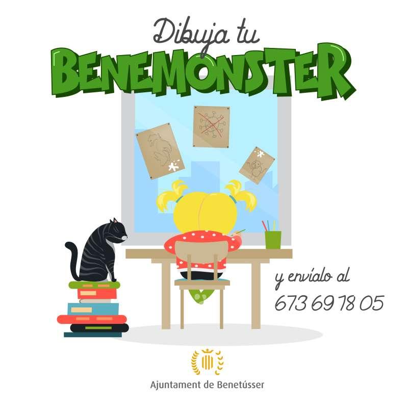 Cartel de Benemonster. EPDA