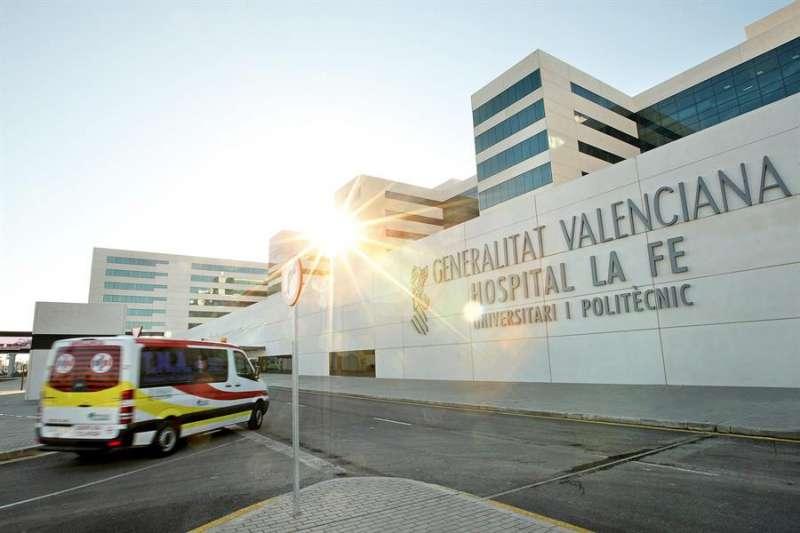 El Hospital La Fe de València. MANUEL BRUQUE