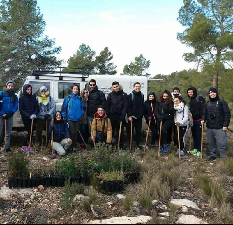 Visita organizada por la Concejalía de Juventud al Parque Natural de las Hoces del Cabriel. EPDA