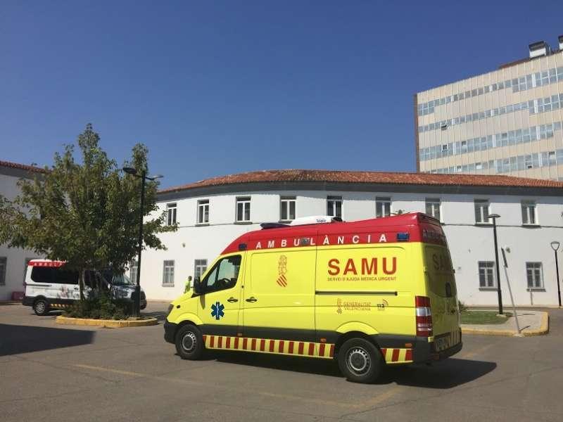 Unidad del Servicio de Atención Médica de Urgencia (SAMU).