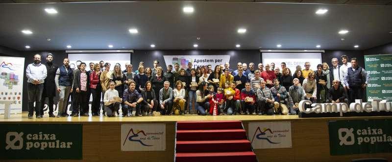 Foto de familia de la Gala. / EPDA