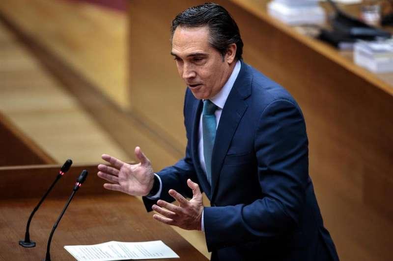 El coordinador de Economía del PP en les Corts, Rubén Ibáñez. EFE