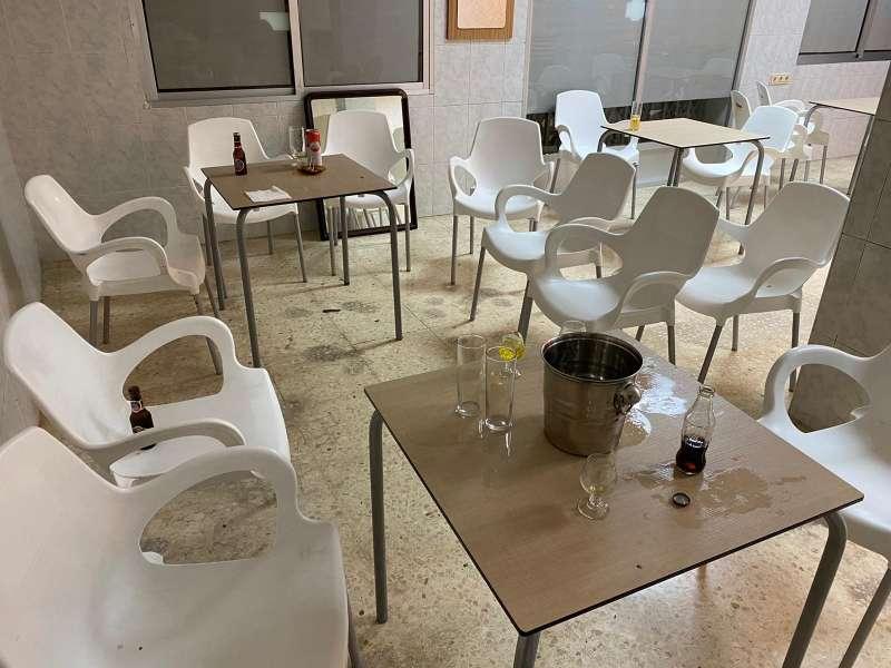 Bar clandestino/EPDA