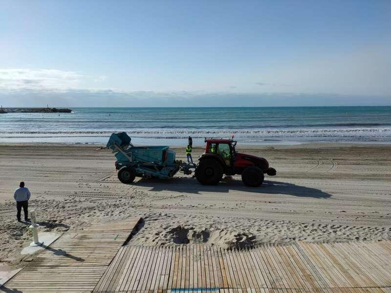 Limpieza de playas/EPDA