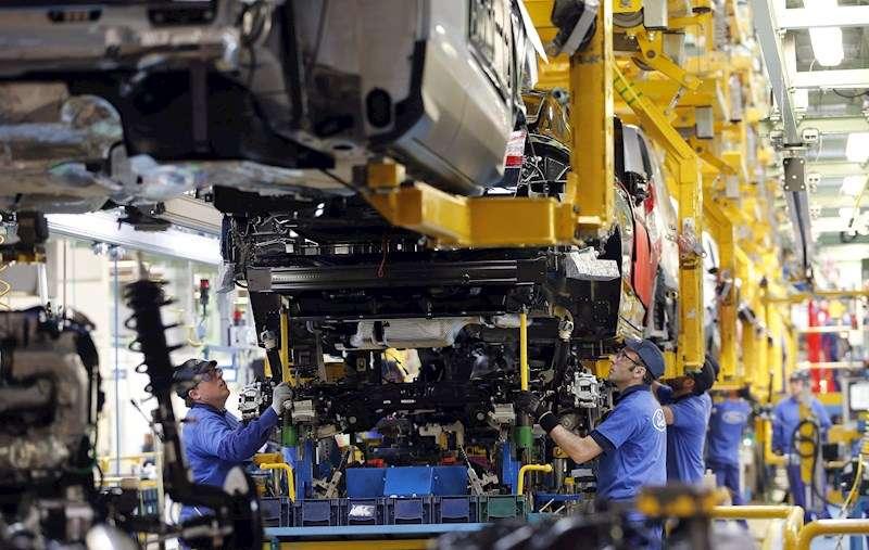 Vista de la planta de Almussafes (Valencia) de Ford España. EFE