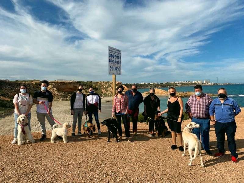 Playa para perros/EPDA