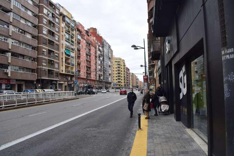 Avenida Pérez Galdós. EPDA