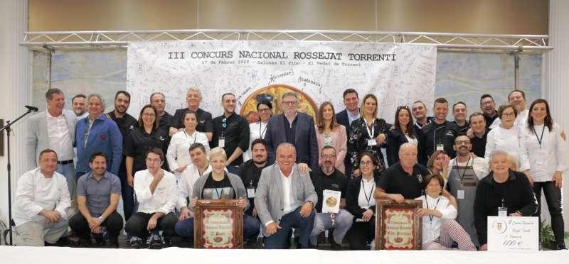 Foto de los ganadores del concurso. EPDA