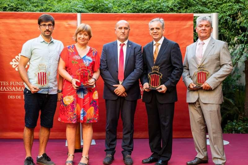 Edición anterior de los premios en Massamagrell. EPDA