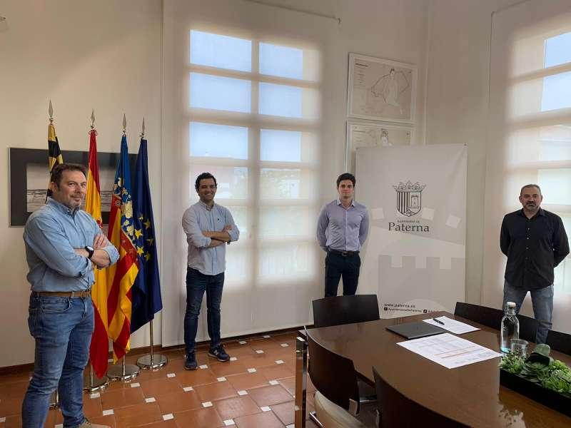 Recepción Puertas Andreu donación EPIs