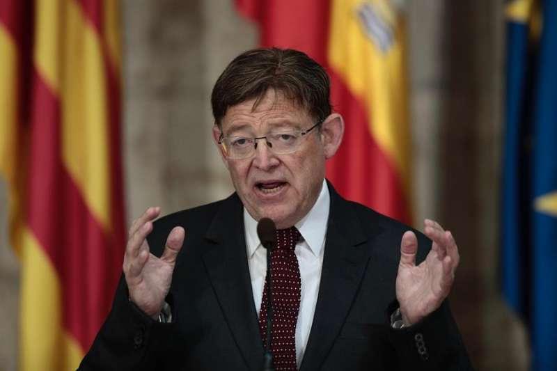 El president de la Generalitat, Ximo Puig, en una imagen de archivo.