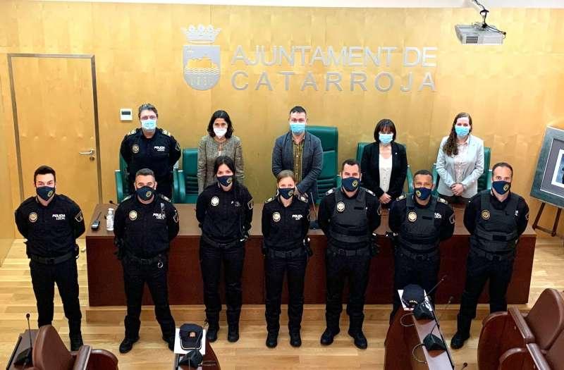 Los nuevos policías interinos. EPDA