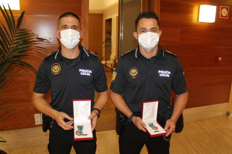 Policías/EPDA