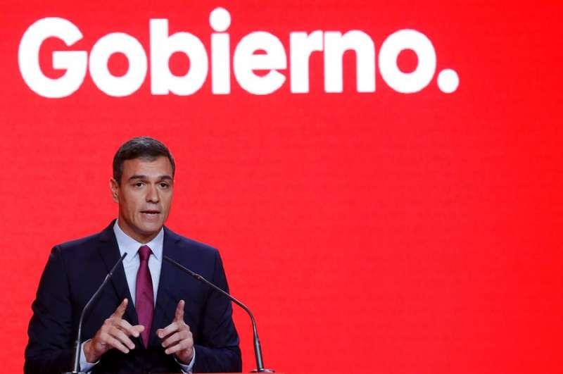 El presidente del Gobierno en funciones, Pedro Sánchez. EFE/Archivo