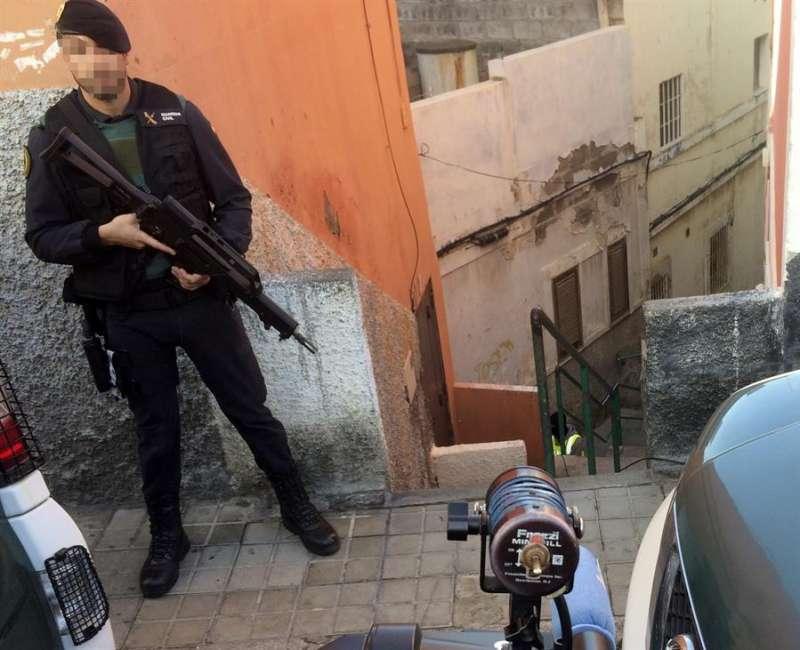 La Guardia Civil, en una acción antiterrorista. EFE/Archivo