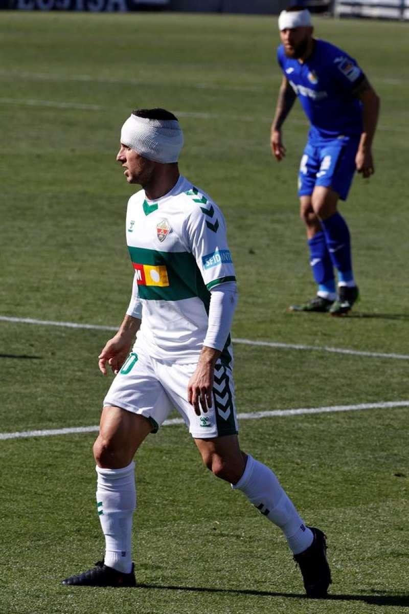 El delantero argentino del Elche Pablo Piatti / EPDA