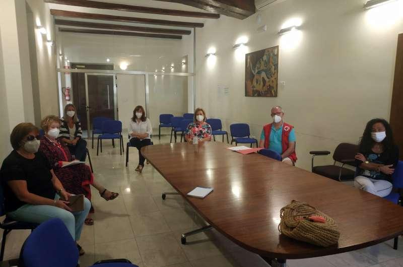 Reunión celebrada en el Ayuntamiento