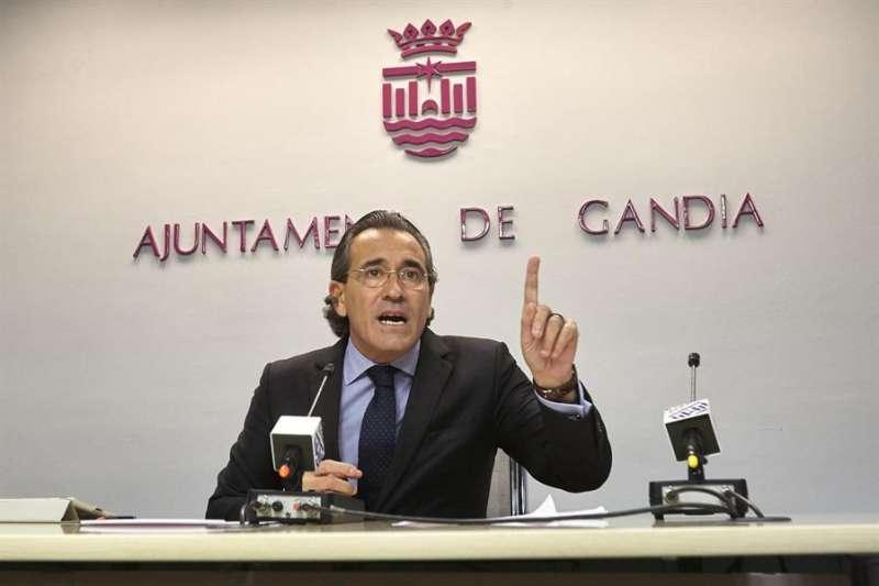 El exalcalde de Gandia Arturo Torró. EFE/Archivo Natxo Francés