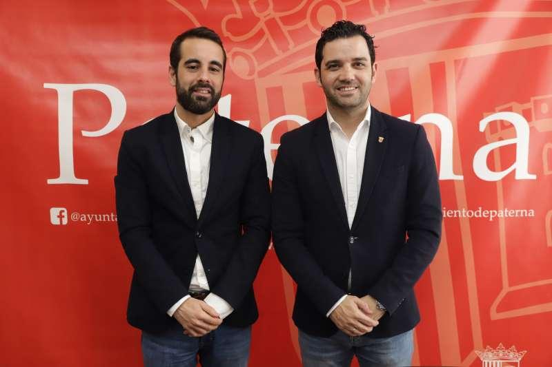 Juan Antonio Sagredo y José Muñoz