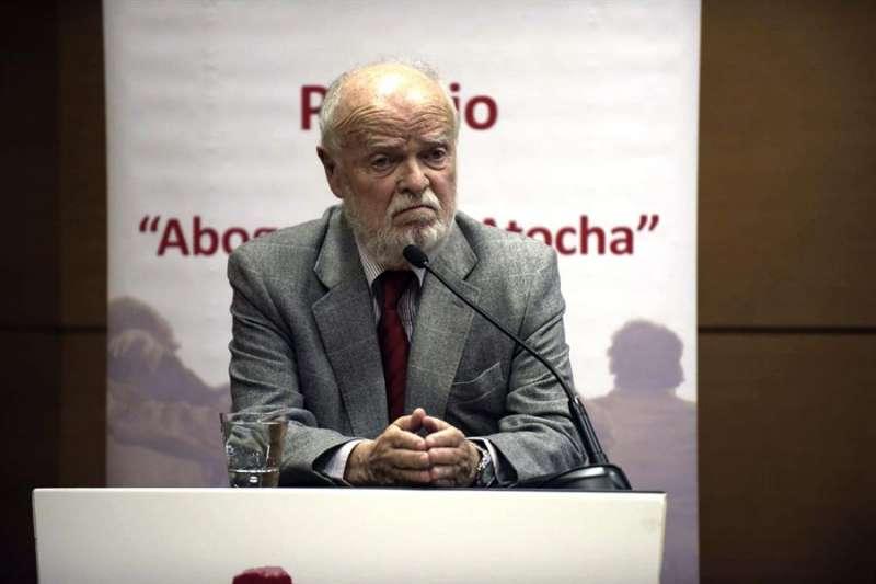 El exfiscal y magistrado emérito del Tribunal Supremo, José Antonio Martín Pallín. EFE/Ismael Herrero/Archivo