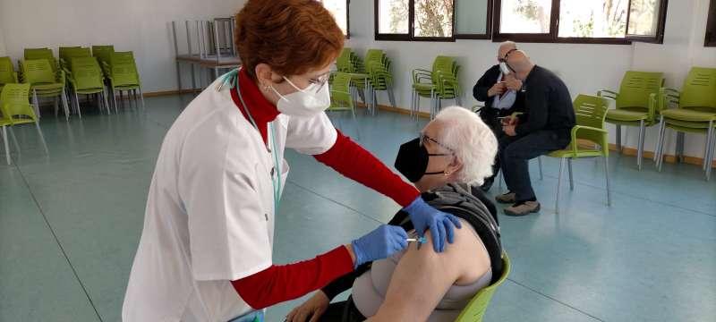Vacunacio al centre. EPDA