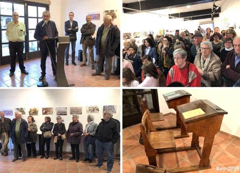 Asistentes a la exposición de Benifairó de les Valls. EPDA