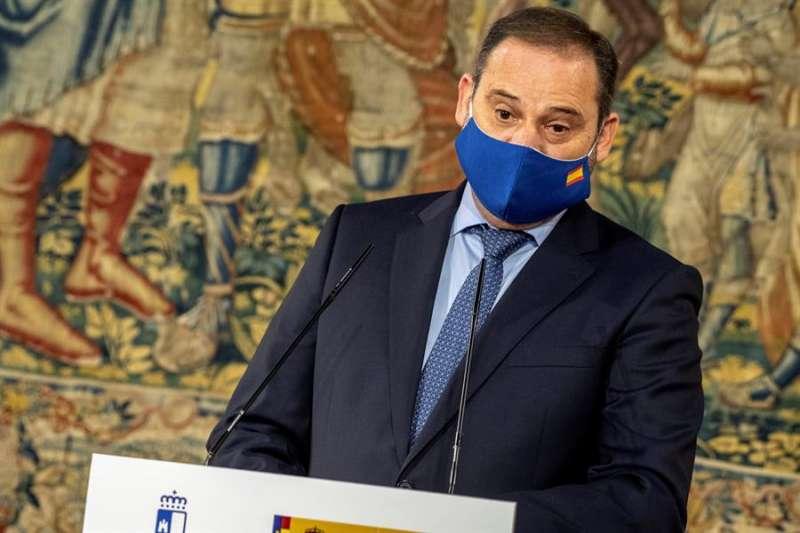 El ministro de Transportes, Movilidad y Agenda Urbana, José Luis Ábalos. EFE