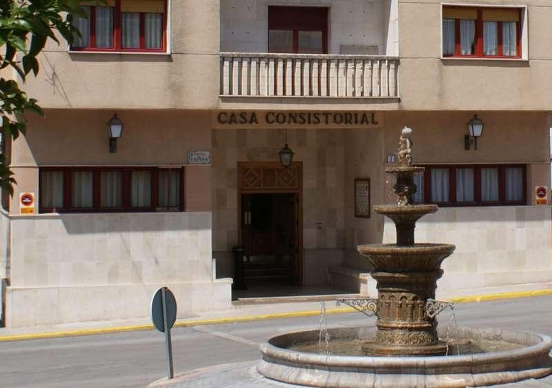 Fachada del Ayuntamiento de Pinoso.