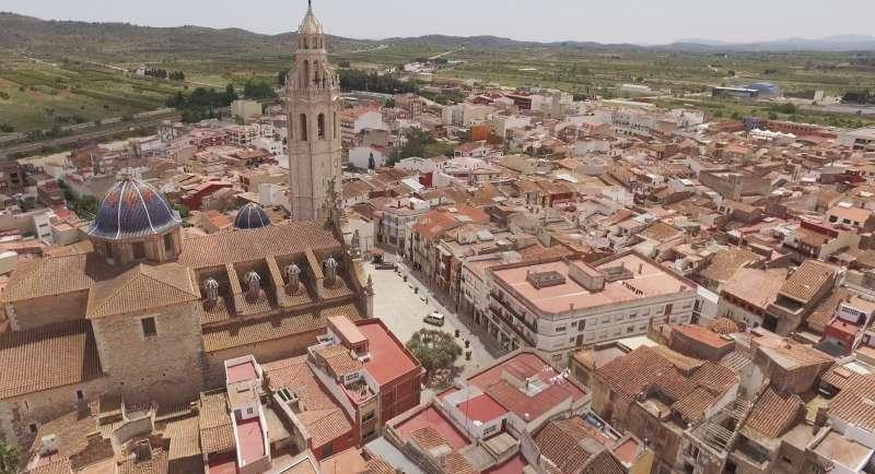 Vista aérea  Alcalà-Alcossebre