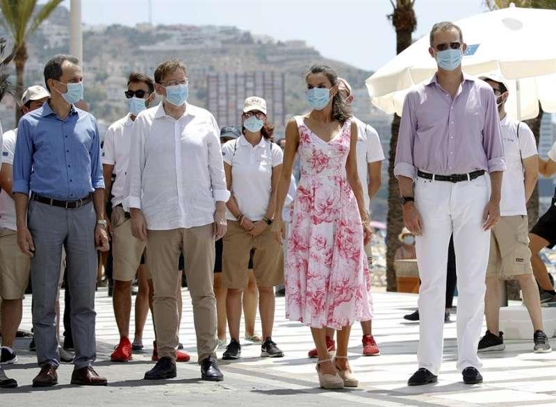 Gira de los reyes por España tras la crisis del coronavirus. EFE/