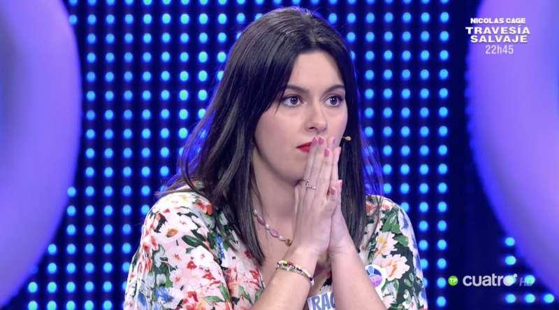 Su compañera Raquel (@fizpireta)./ Twitter El Concurso del Año