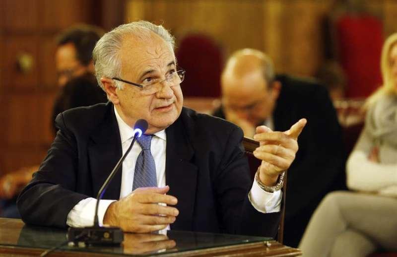El exconseller Rafael Blasco. EFE