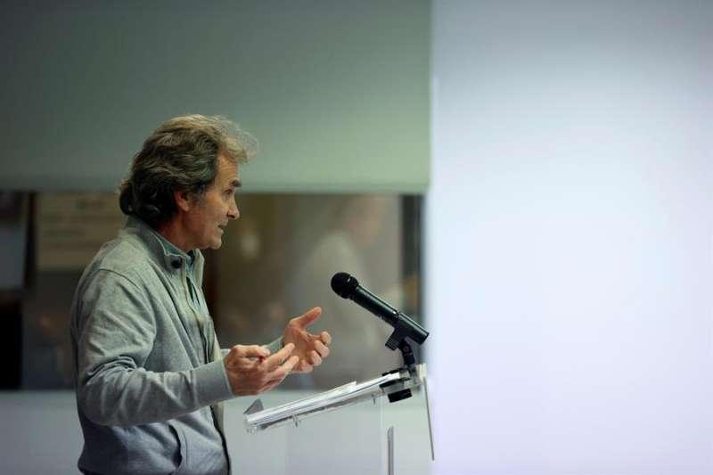 El director del Centro de Coordinación de Alertas y Emergencias Sanitarias del Ministerio de Sanidad, Fernando Simón. efe