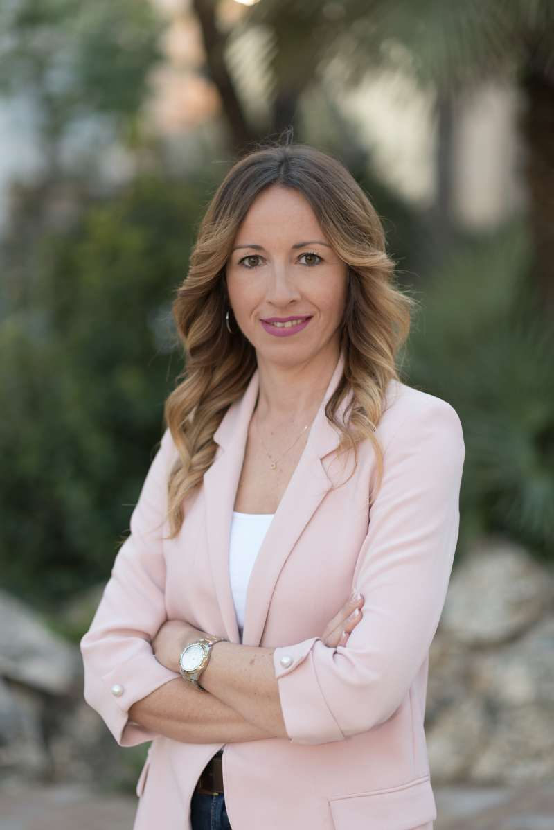 Cristina Civera, alcaldesa de Museros, en una imagen de archivo. / epda