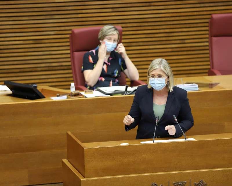 La portavoz adjunta de Cs en la Cámara, Mamen Peris.