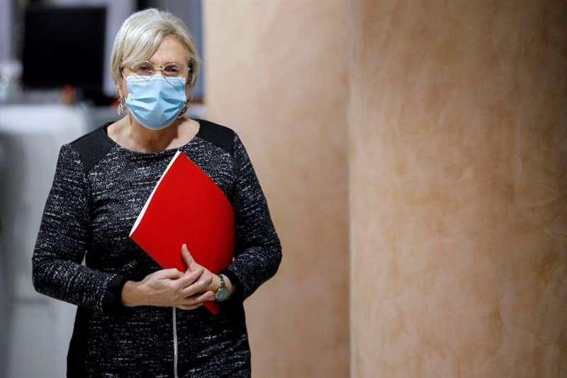 La consellera de Sanidad de la Comunidad Valenciana, Ana Barceló. EFE