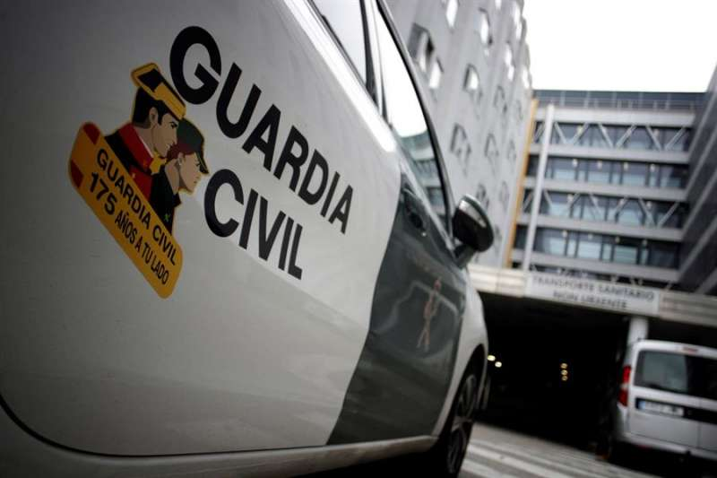 Coche de la Guardia Civil / EFE