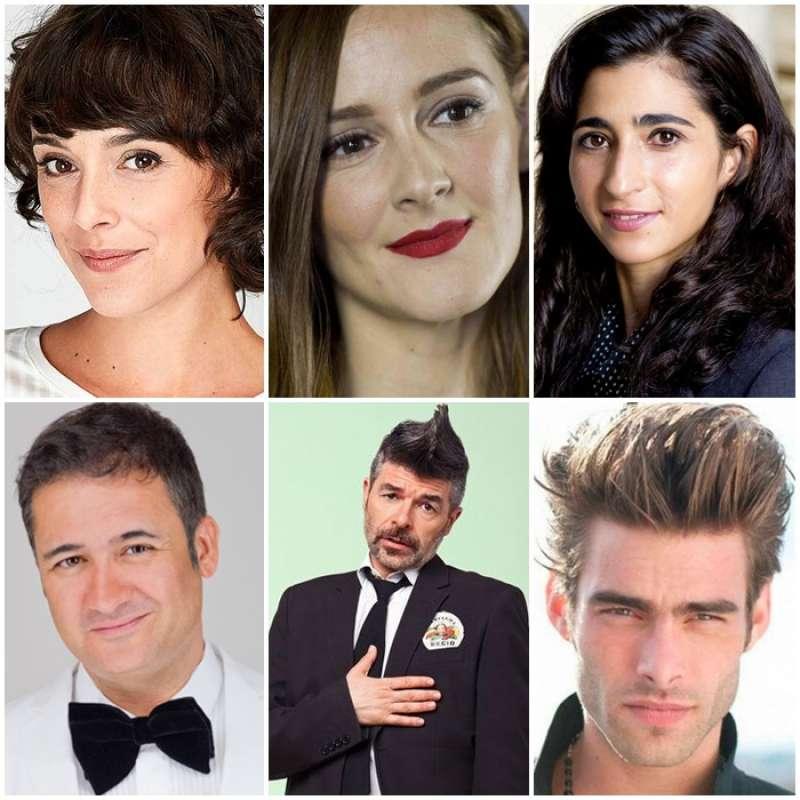 Actrices y actores nominados en las categorías de Reparto.