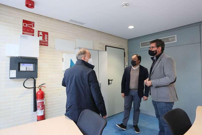 Visita a la oficina comarcal de Rojales/EPDA
