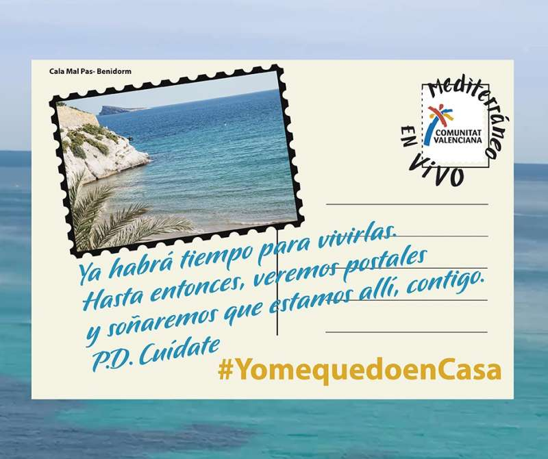 Imagen de una de las postales. / EPDA
