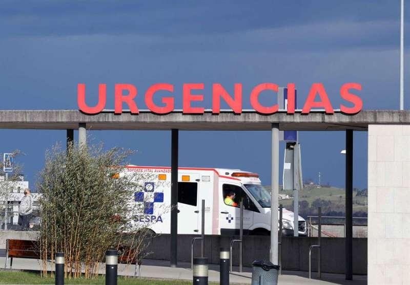 Vista de la zona de Urgencias de un hospital. EFE